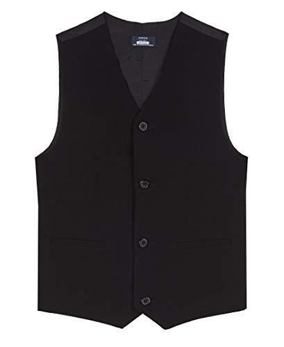Arrow 1851 Boys' Big Aroflex Stretch Suit Vest, Black, X-Small (4/5)