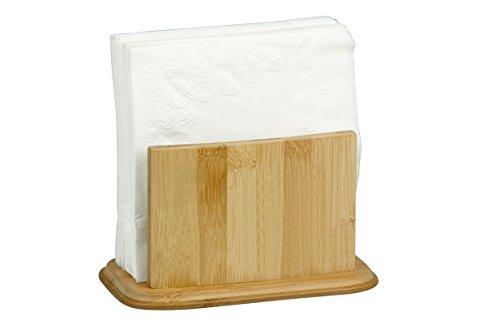 Home Basics Serviettenhalter, Bambus