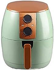 WGLL Luchtfriteuse huishoudelijke multifunctionele olievrije automatische intelligente friet elektrische friteuse grote capaciteit met temperatuurregeling, anti-stick fry mand