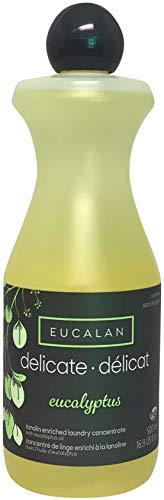 Eucalan 666884334275 pflegendes Feinwaschmittel, Eukalyptus, 500 ml für Handwäsche