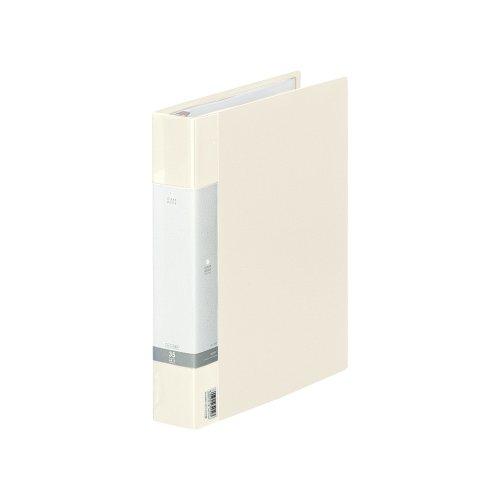 リヒトラブ クリヤーブック 交換式 A4 30穴 35ポケット 白 G3803-0