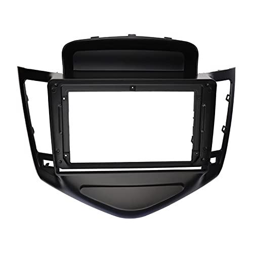 XINGSTOR 9 pulgadas Coche Radio Fascia Dashboard Instalación Kit de ajuste Marco de colocación GPS Bisel Stereo Panel Ajuste para Chevrolet Cruze 2009-2011 ( Color Name : Black , Size : 9 Inch )