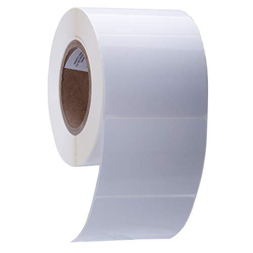 Kenco Premium Inkjet-Etiketten, 10,2 x 7,6 cm, kompatibel mit Primera Color Etikettendruckern und vielen anderen Druckermarken, auf einem 7,6 cm Kern (matt BOPP) 1 Stück