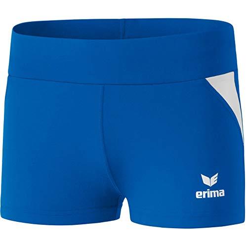 Erima Atletica, Hot Pants Donna, New Royal/Bianco, 40