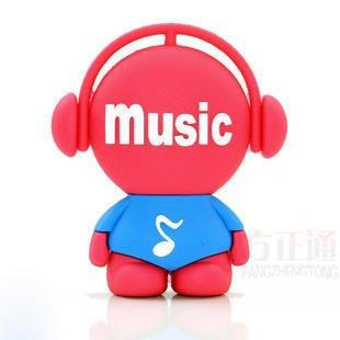 Sunworld - Chiavetta USB 8 GB 16 GB 32 GB 64 GB musica uomo chiavetta USB 2.0 Flash - rosso rosso rosso 64Go