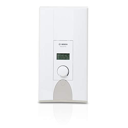 Bosch elektronischer Durchlauferhitzer Tronic Advanced Plus, 24/27 kW, Übertisch mit gradgenauer Temperatur-Einstellung und LCD-Anzeige, solargeeignet