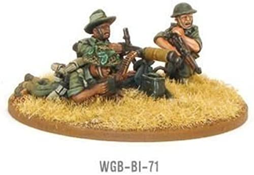 40% de descuento Gurkha Vickers MMG Team by Warlord Warlord Warlord Games  envío gratis