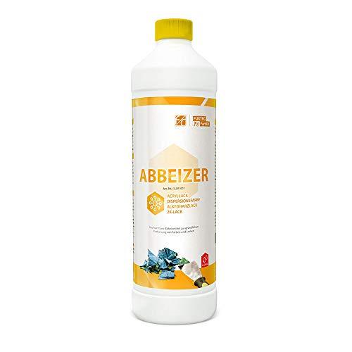 Furth Chemie, Flüssig-Abbeizer, Farb- und Lack-Entferner für Holz, Metall, Beton, 1L