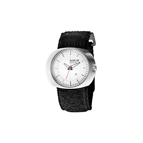 Replay Reloj analogico para Mujer de Cuarzo con Correa en Tela RW5203AH