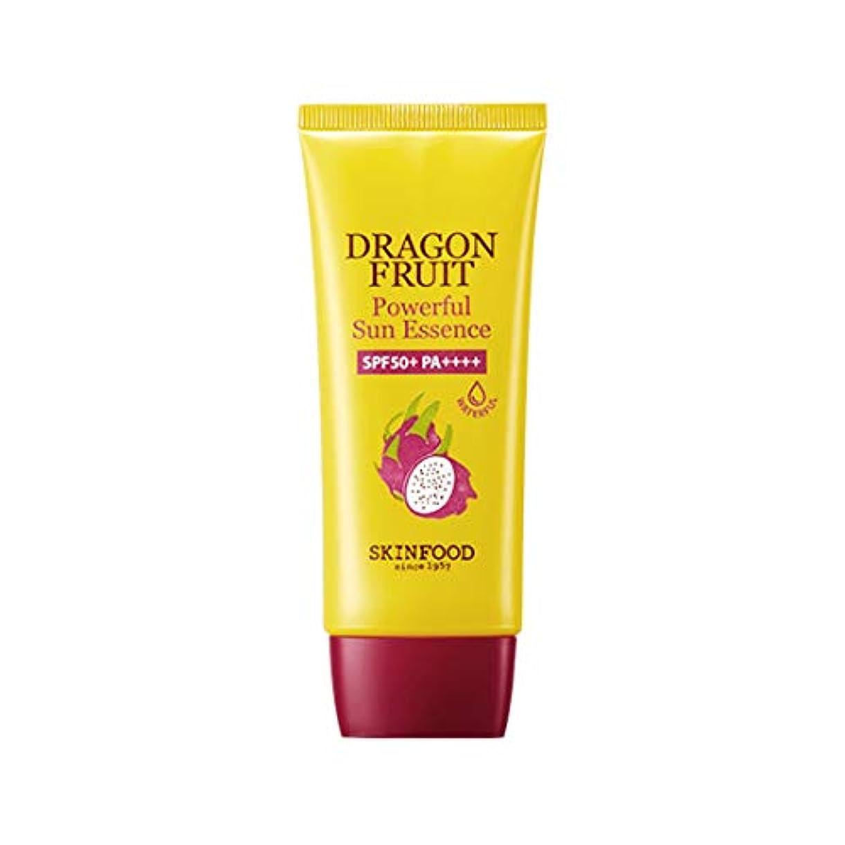 分析的活性化する消化Skinfood ドラゴンフルーツパワフルサンエッセンスSPF50 + PA +++ / Dragon Fruit Powerful Sun Essence SPF50+ PA+++ 50ml [並行輸入品]