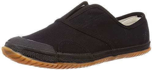 [ヘイギ] 作業靴 作業タビ靴 スニーカー 軽作業・室内作業に最適 HG-22 メンズ ブラック 27 cm