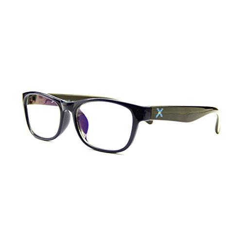 PIXEL LENS MASTER BLU-NERO occhiali PC, TV, Gaming, comfort visivo, contro stanchezza occhi, montatura leggera TR90, RIDUZIONE LUCE BLU 41% e UV 100% certificata Università Torino. Filtro Monitor