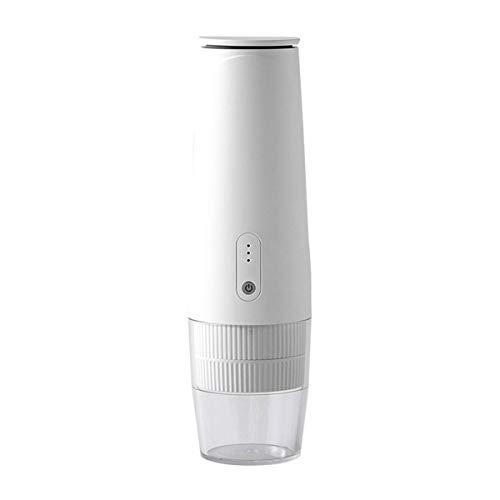 Ybzx Tragbare Kaffeemaschine, Espressomaschine für Camping, One-Button-Modus, kompatibel mit Nespresso-Kapsel, Kaffeemaschine zum Fahren, Reisen