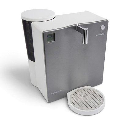 Mobiler Wasserfilter Aqua Living Springtime 420 Aluminiumoptik Umkehrosmose-Technik…