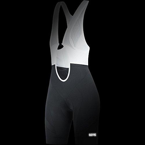 GORE Wear Atmungsaktive, kurze Damen Trägerhose, Mit Sitzpolster, C5 Women Bib Shorts+, 36, Schwarz, 100198 - 2