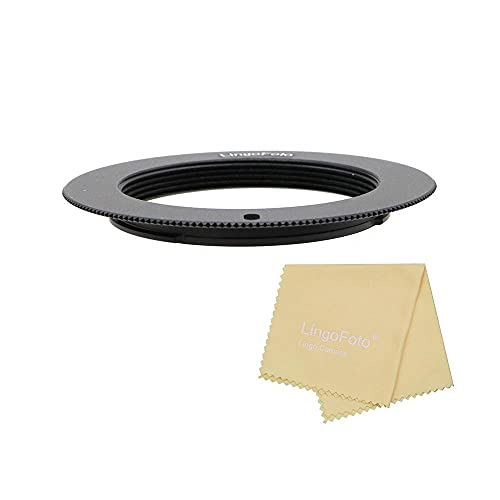 Ultra Slim M42-NEX Mount Adapter, for M42 to for Sony NEX-7 6 A7 A7R with 2mm Flange Adapter to Helicoid Tube