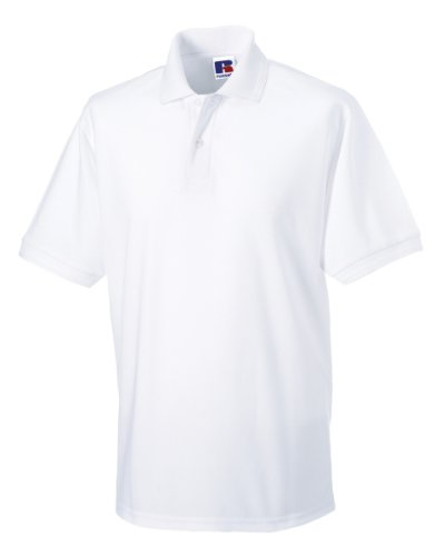 Russell Workwear - Polo - - Polo - Col Polo - Manches Courtes Homme - Blanc - Blanc - XXX-Large