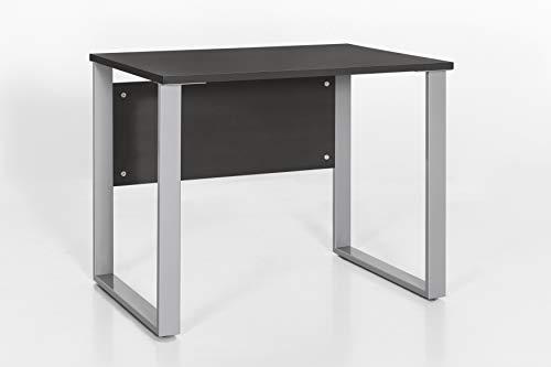 Möbelpartner Schreibtisch Lola 701426 anthrazit, 90,0 x 65,0 x 73,2 cm