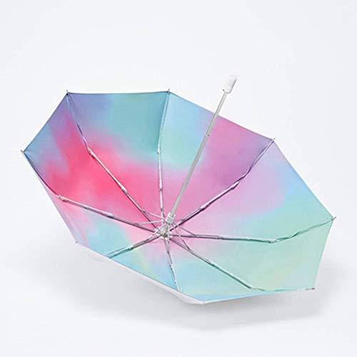 DXX Paraguas plegable hueso paragüero diseño doble