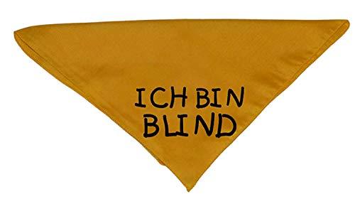 Hundehalstuch ICH BIN BLIND
