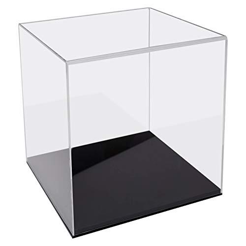 HMF 46851 Acryl Vitrine / Schaukasten für Fußbälle, Basketbälle   30 x 30 x 32 cm   Transparent