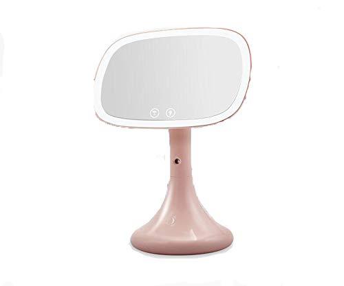 ファッションテーブルランプLED美容メイクアップミラースプレーナノハイドレーションとランプデスクトップ美容メイクアップミラーデスクトップメイクアップミラー