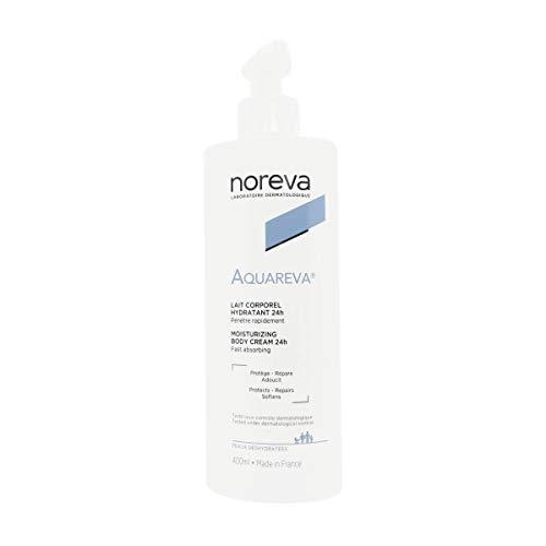Noreva Aquareva - Körpermilch, langanhaltend Feuchtigkeit spendend (1 x 400ml)
