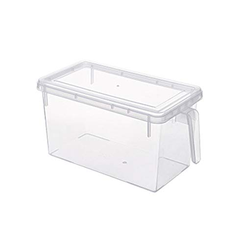 Sunnyflowk Japanese-style covered storage box anti-odor refrigerated box fruit storage transparent storage box refrigerator storage box(0)