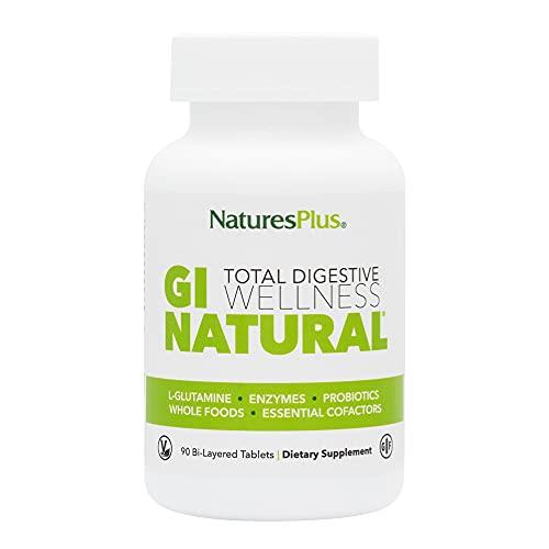 NaturesPlus GI Nutra Total Digestive Wellness - 90 Vegetarian Tablets,...