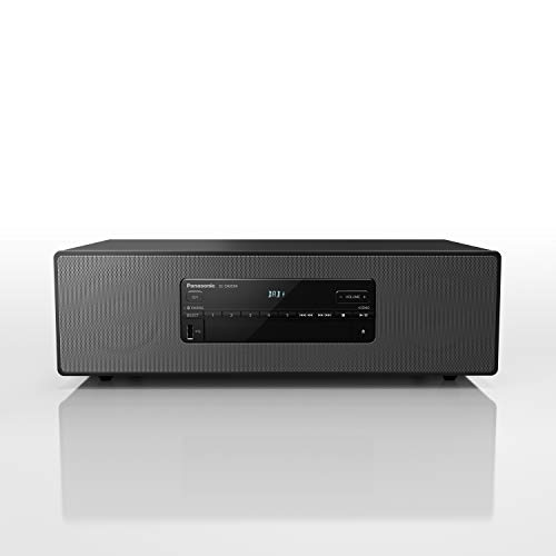Panasonic SC-DM504EG-K Micro HiFi en Noir (40 W RMS, Digital Dab+, CD, FM, Bluetooth, USB, AUX)