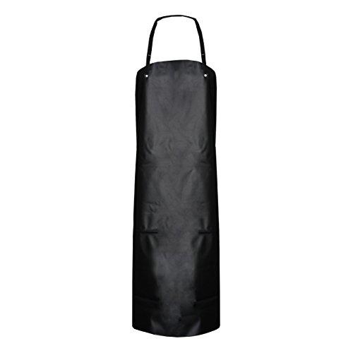 ASATEX ASATEX Gunova-Säureschutzschürzen GS4S, schwarz, ca. 80 cm x 100 cm (10 Stück)