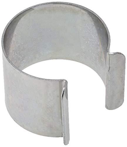 Clips für Gewächshaus, Metall, verzinkt, 35mm x 30mm, 20Stück