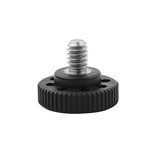 Bascar Thumb Screw Camera Quick Release 1/4 Inch Thumb Screw L Holder For Camera Screw Adapter Female Thread 1/4 Inch Bottom