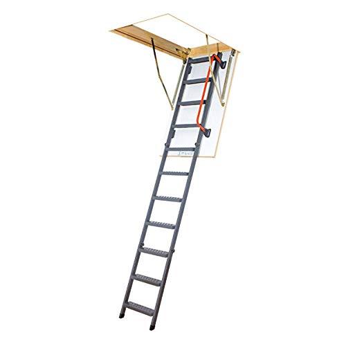 Scala retrattile in metallo - altezza soffitto massima 2;80m