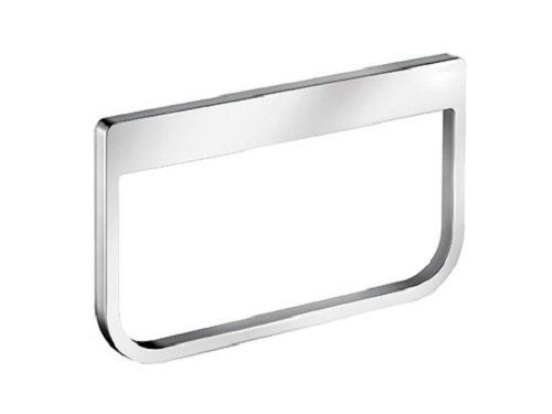 Keuco Moll Handtuchring (Farbe chrom, gerundete Kanten, Ring schwenkbar, für Badezimmer) 12721010000