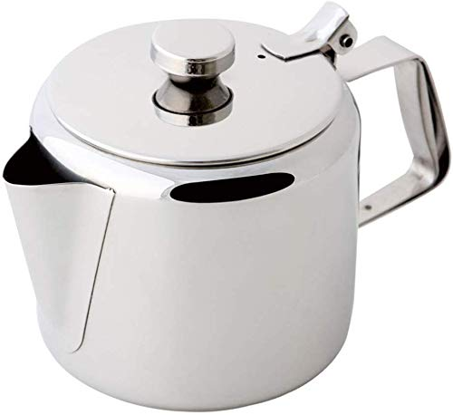 Guilty Gadgets - Teiera da caffè in acciaio INOX, 750 ml