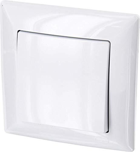 Up de encendido/apagado–All-in-One–Marco + rasante de uso + Protectora (Serie G1Color Blanco)