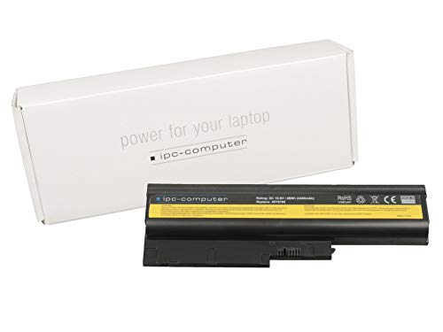 ipc-computer Batterie 48Wh Compatible avec la Serie Lenovo ThinkPad R61i