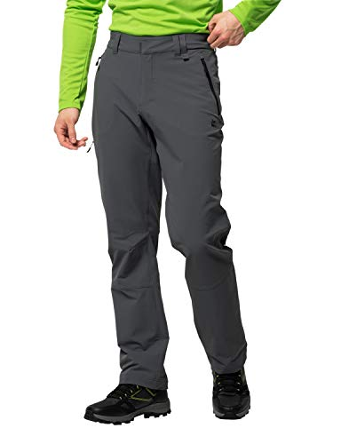 Jack Wolfskin Herren Activate XT Men Hose, Grau (dark iron), 48