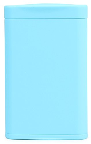 Dreams(ドリームズ) 携帯灰皿 ポケットアッシュトレイ スリム ハニカム 4本収納 ライトブルー MDL45287