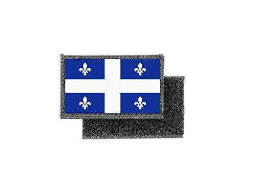 Aufnäher patch aufbügler gedruckt flagge fahne kanada quebec