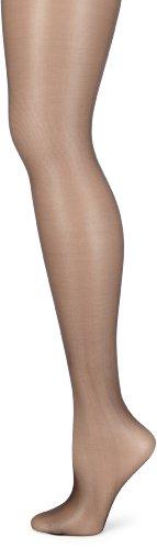 KUNERT Fresh up 10 panty's, transparante fijne panty dames 10 optica, nylon panty met binnenbroek, hoeveelheid: 1 stuk