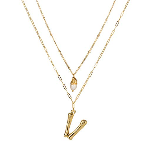 Lege Hanger Ketting Multilayer Ketting Ketting 26 Letter Ketting Vrouwen Party Sieraden Gift