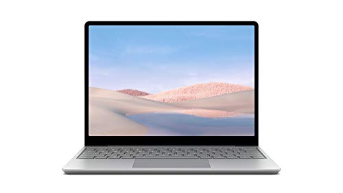 Microsoft Surface Laptop Go, 12,45 Zoll Laptop (Intel Core i5, 8GB RAM, 128GB SSD, Win 10 Home in S Mode) Platin