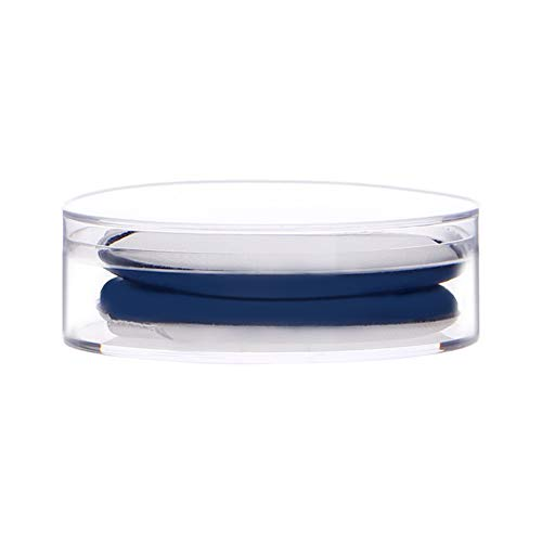2 Pièce Maquillage Poudre Feuilletée Coussin D'air Set Maquillage Éponge Liquide Fond De Teint Correcteur Applicateur Délicat Respectueux De La Peau Sans Odeur,Bleu