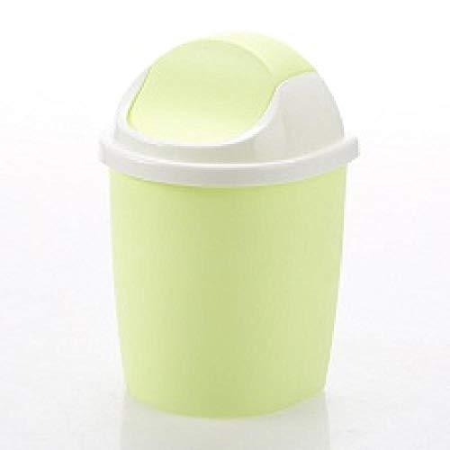 Sinzong Kleine Milnisemmer, 1 stuks, 4 kleuren, kunststof, voor het schoonmaken van vuilnisbak, verse bonbonverf, kleine vuilnisemmer, Desk Organizer, vuilnisemmer