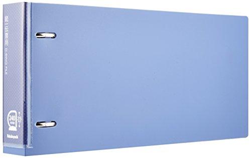 ナカバヤシ Dリングファイル 統一伝票 E型 ブルー RF1172B-N