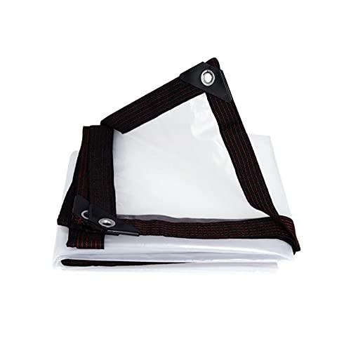 AIJIANG Plane Klare Plane, Klare wasserdichte Plane Plane Blatt Transparente Plane Mit Ösen Möbelblatt PE Für Camping Angeln Gartenarbeit PE Plane (Color : A, Size : 2x3m)