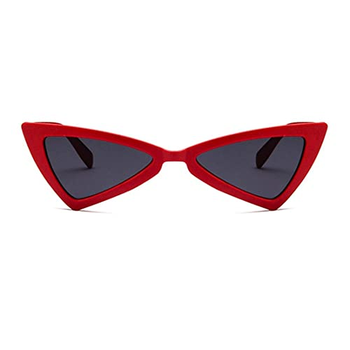 Gafas de Sol de diseño de Moda para Mujer, Gafas de Sol Vintage con Forma de triángulo Irregular, Gafas de Sol para Mujer, Gafas de Ojo de Gato