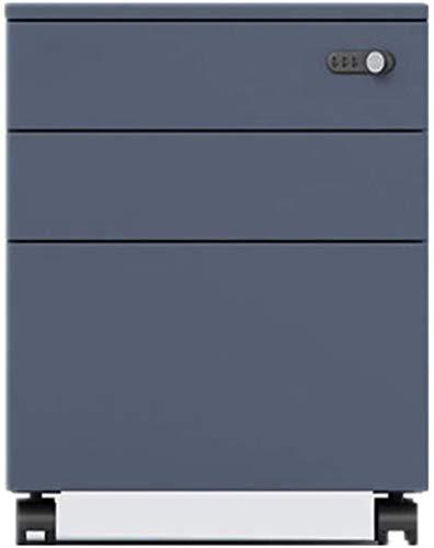 Schreibtischlampe Roll Vertical File Cabinet, Mobile Storage Cabinet mit mechanischem Code Lock, Vertikal Dreidimensionale Kabinett for Gewerbe Home Office, Put unter der Tabelle